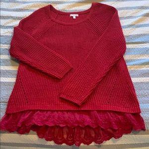 Long Sleeve Gianna Bini Sweater Size L